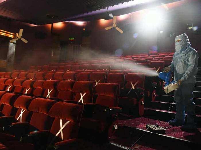 Sanitization Of Theatre