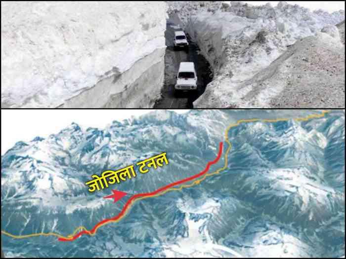 zojila tunnel route, cost and strategic importance for india: