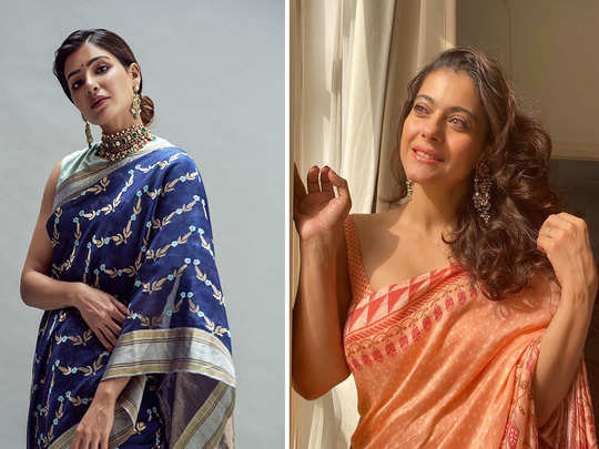wear this light weight sarees for style and comfort this navratri