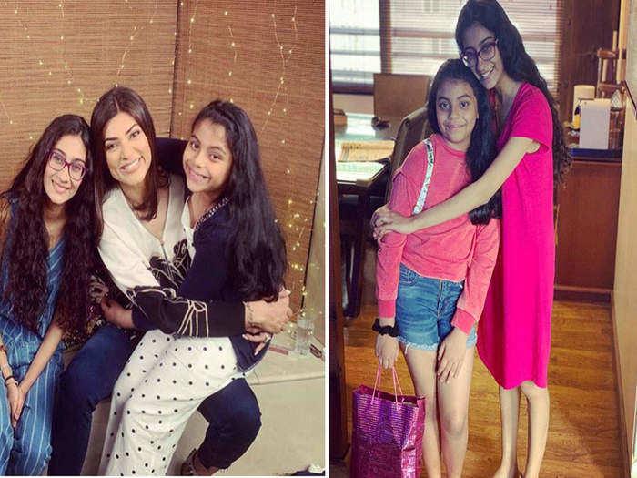 sushmita sen doing best parenting without husband or sushmita sens parenting story in marathi