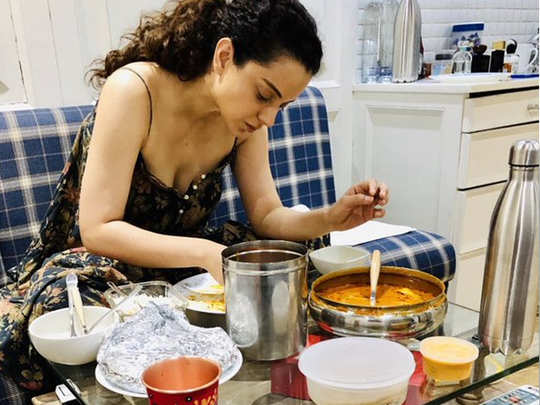 Kangana Ranaut about losing weight