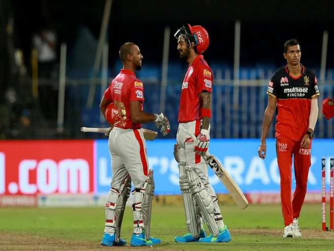 ipl 2020 punjab vs banglore match highlights scorecard turning point and  watch photos, पंजाब बनाम बैंगलोर हाइलाइट्स मैच स्कोर क्रिस गेल केएल राहुल  मयंक अग्रवाल Photogallery