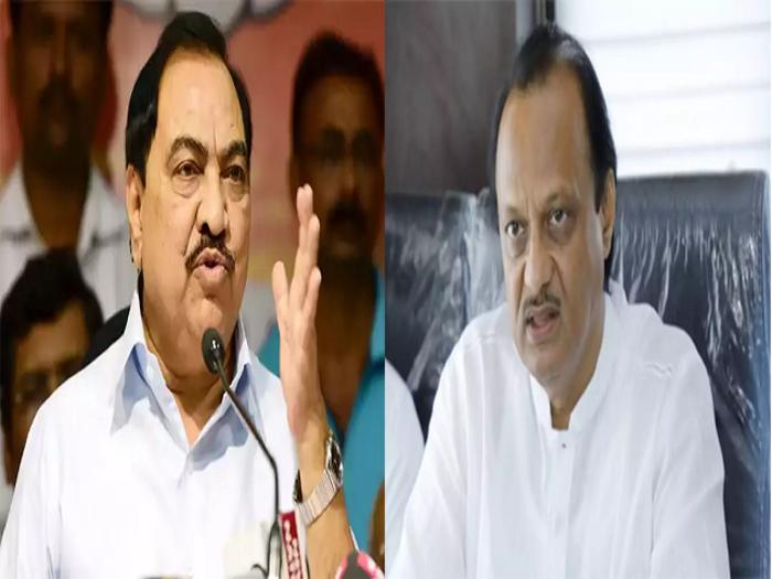 ajit pawar speaks on eknath khadse