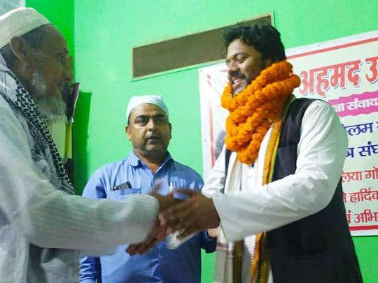 jinnah vivad se charcha me aaye mashkur Ahmad Usmani ko congress ne dia  ticket : जिन्ना विवाद से सुर्खियों में आए AMU छात्रसंघ के पूर्व अध्यक्ष मशकूर  अहमद उस्मानी को कांग्रेस ने