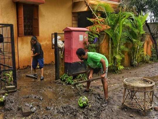 flooding back for residents along ambil odha pune rainfall