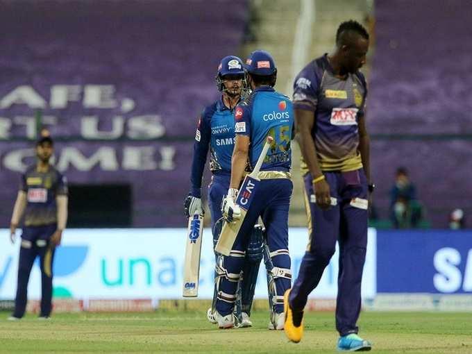 मुंबई की तेज शुरुआत, 94 रनों की साझेदारी