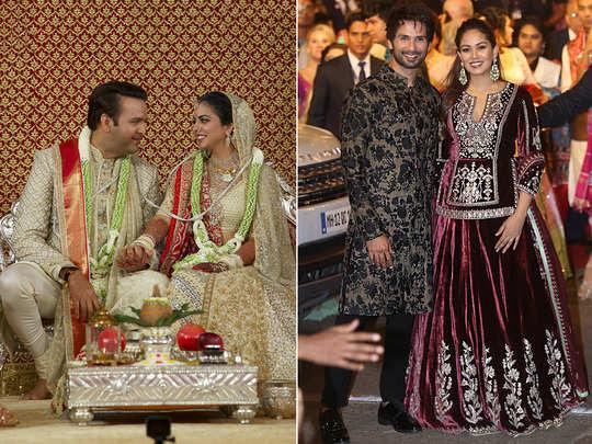 mira rajput lehenga for isha ambani wedding was very expensive