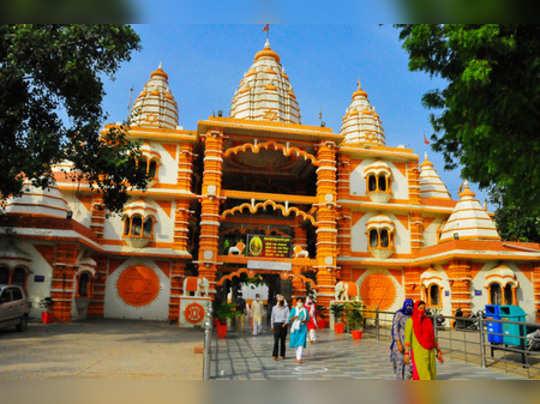 Gurugram: View of Sheeta Mata shrine after it re-opened following the coronaviru...