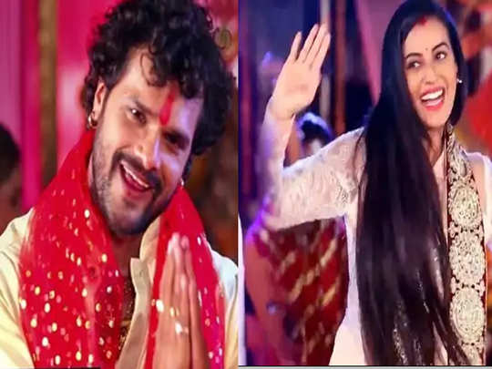 watch khesri lal yadav to akshara singh hit bhojpuri devi geet 2020