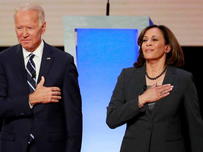 Biden and Harris congratulated