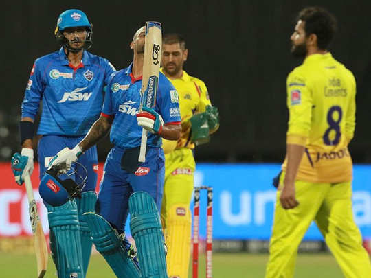 shikhar dhawan first ipl century helped delhi capitals to beat chennai super kings know turning points of the match