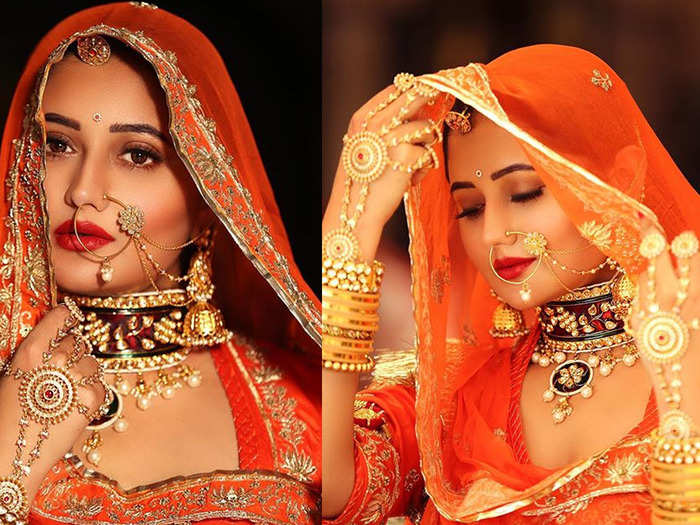 rashami desai stuns fans and co stars as rajasthani bride watch bold and sizzling photos