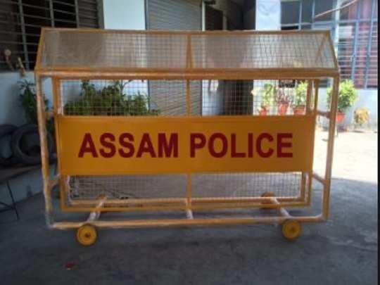 Assam police.