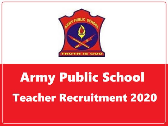 army school teacher jobs