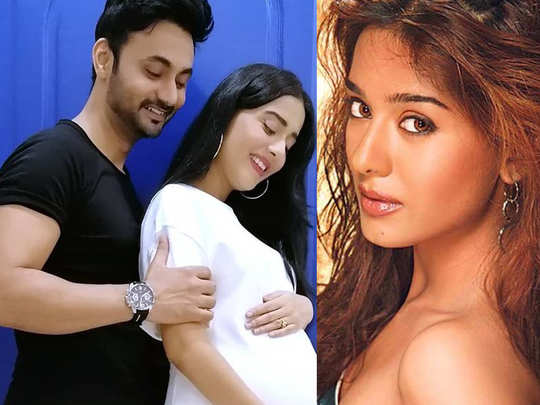 Amrita Rao shared a stunning picture of her baby bump