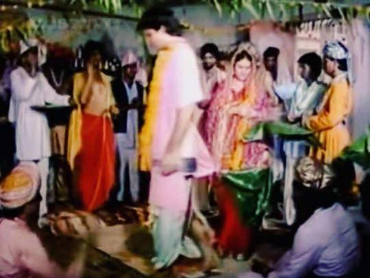 laxman sunil lahri shares his pics of marrying sita aka dipika chikhlia in vikram aur betaal tells a funny incident