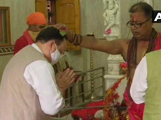 बंगाल दौरे पर जेपी नड्डा