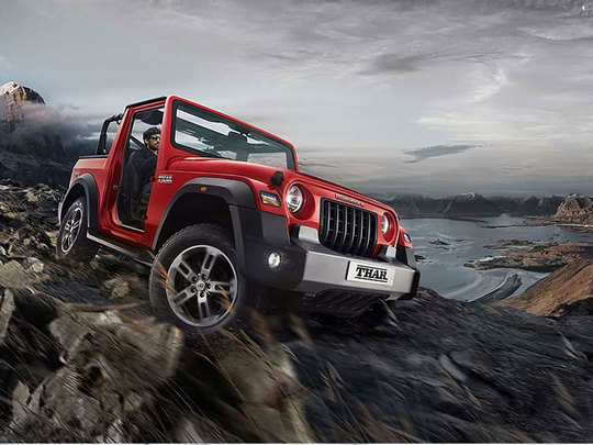 mahindra thar receives over 15000 bookings
