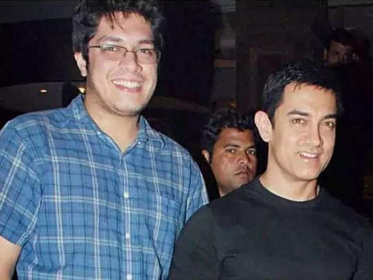 बेटे जुनैद के साथ आमिर खान