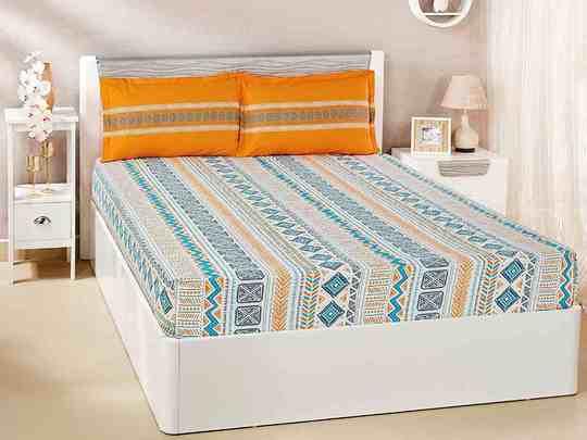 Amazon Sale 2020: रंग बिरंगी और सॉफ्ट कॉटन की Bedsheets पर मिल रहा है हैवी डिस्काउंट, जल्दी करें