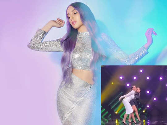 nora fatehi and malaika arora killer dance moves on guru randhawa naach meri rani song breaks the internet video goes viral