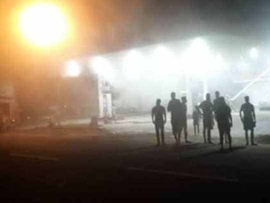 Pathanamthitta Petrol Pump Fire