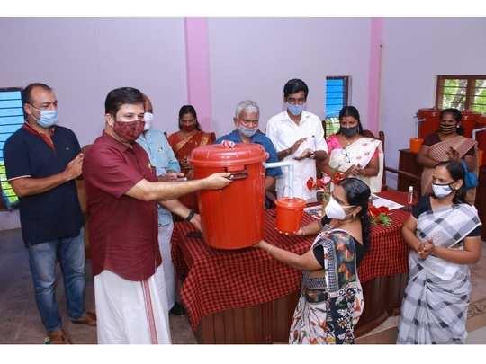 muhamma grama panchayat has prepared an innovative scheme for bio-waste treatment