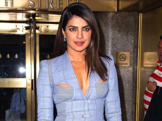 priyanka chopra cut out blazer trolling