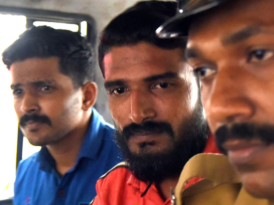 Sivarenjith and Nazeem at Cantonment police station