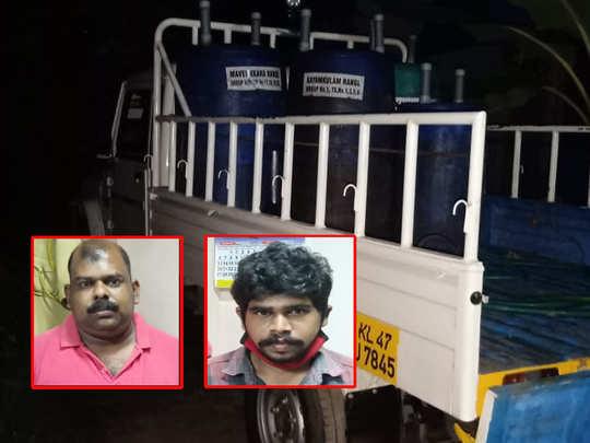 Kayamkulam Spirit Arrest