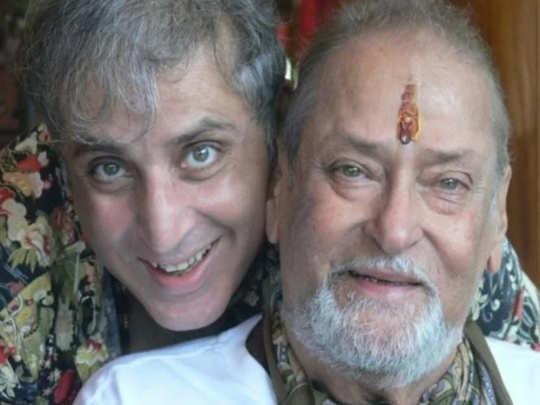 Aditya Raj Kapoor And Shammi Kapoor