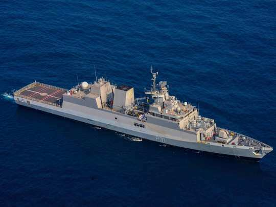 ins kavaratti inducted into indian navy features of this anti-submarine warfare stealth corvette