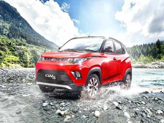 Mahindra KUV100 NXT Dual Tone Launch Price