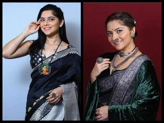 try these trendy and beautiful silver jewellery for this navratri and other festivals in marathi
