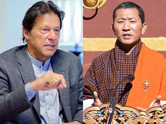 Imran Khan and Lotay Tshering