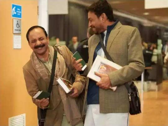 दीपक डोबिरयाल और इरफान खान