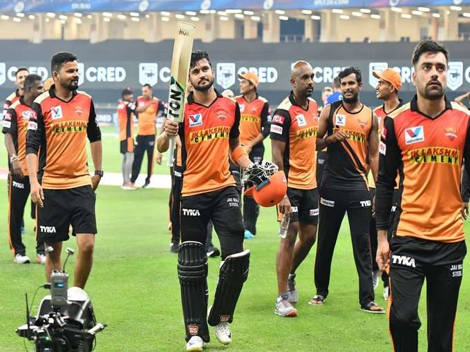 हैदराबाद की शानदार जीत