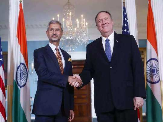 india us beca basic exchange and cooperation agreement for geo-spatial cooperation mike pompeo and mark esper