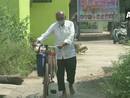 maharashtra a 87-year old homoeopathic doctor in chandrapur district braves covid19 pandemic to treat villagers