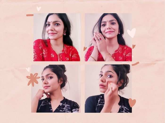 navratri 2020 easy and simple makeup tips for navratri look in marathi
