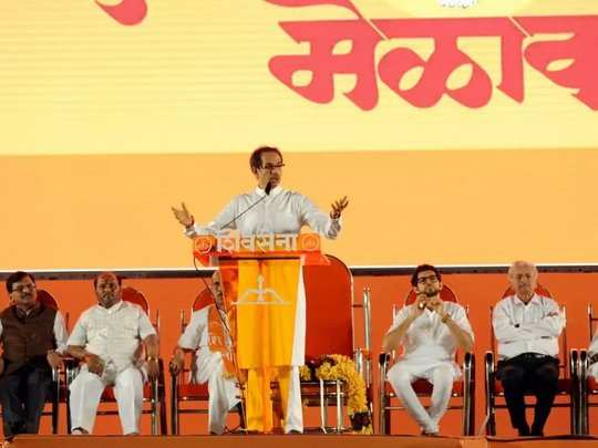 shivsena dussehra rally file photo