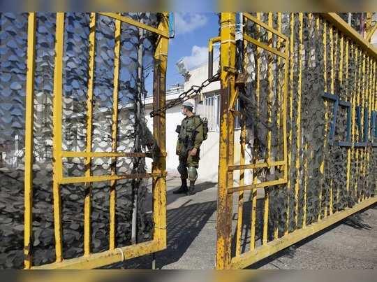 Israel Soldier AP