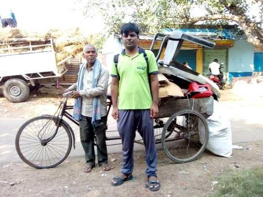 kota coaching news: भिखारी कबाड़ीवाला का सपना हुआ पूरा, बेटे अरविंद ने NEET में हासिल किये 620 अंक