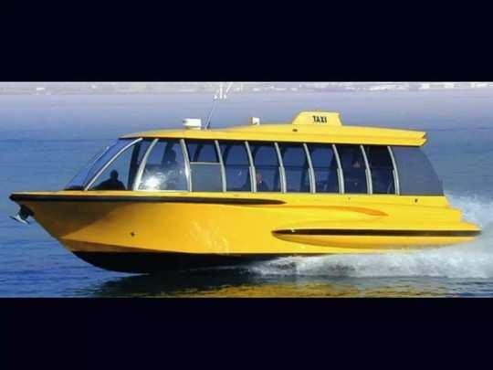 नवी मुंबईसाठी वॉटर टॅक्सी?