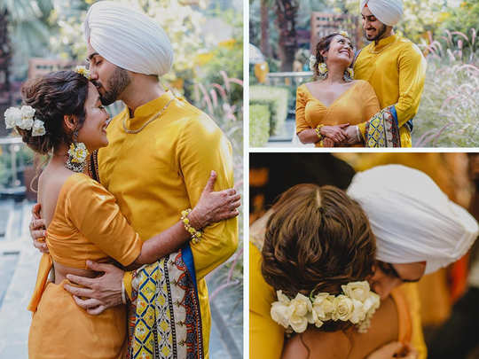 neha kakkar shares haldi ceremony pictures she all set to marry singer rohanpreet singh