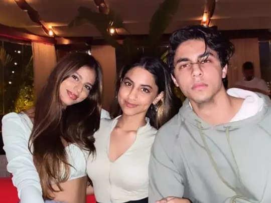 Suhana Khan with Alia Chhiba