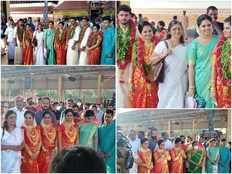 three sisters among pancharatnas got married at guruvayoor temple