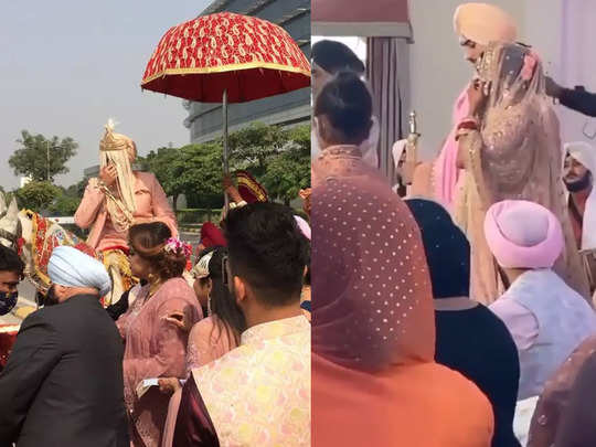 neha kakkar and rohanpreet get hitched in delhi watch photos and videos of their baraat and wedding