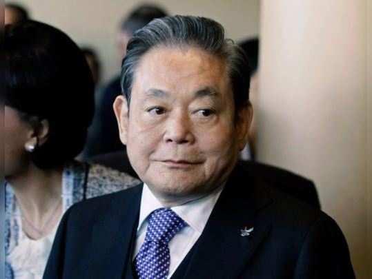 Samsung Electronics chairman Lee Kun-Hee
