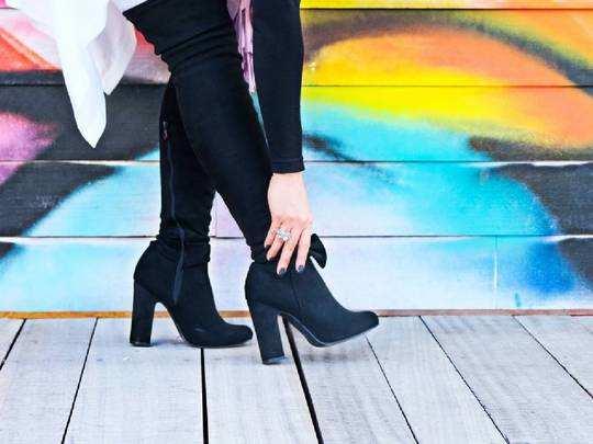 Boots for Women On Amazon : स्टाइलिश और लेटेस्ट फैशन के लेडीज बूट हैवी डिस्काउंट पर खरीदें